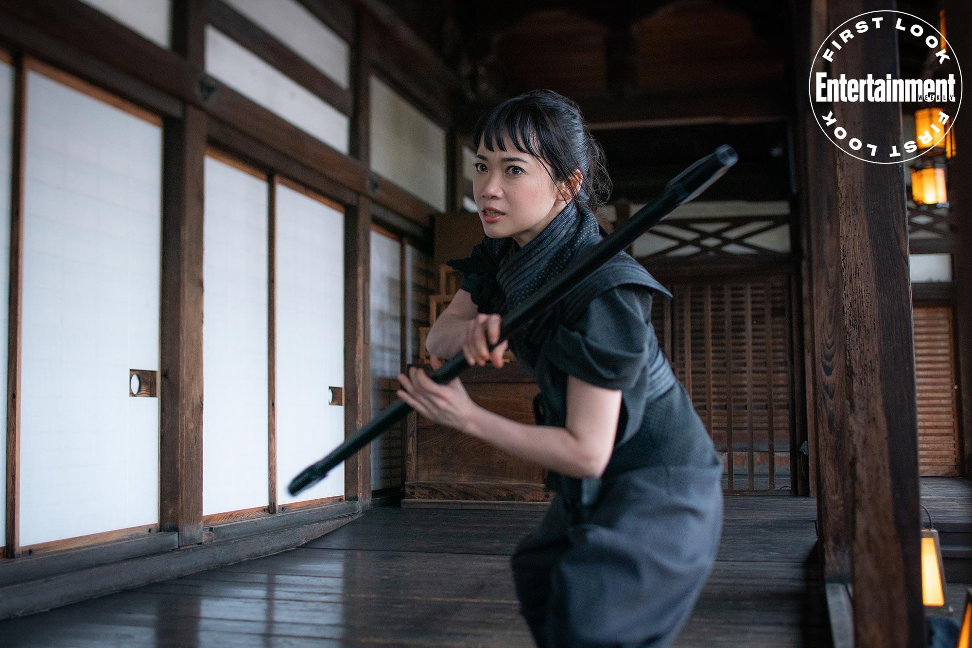 """Haruka Abe jako Akiko w filmie """"Snake Eyes"""""""