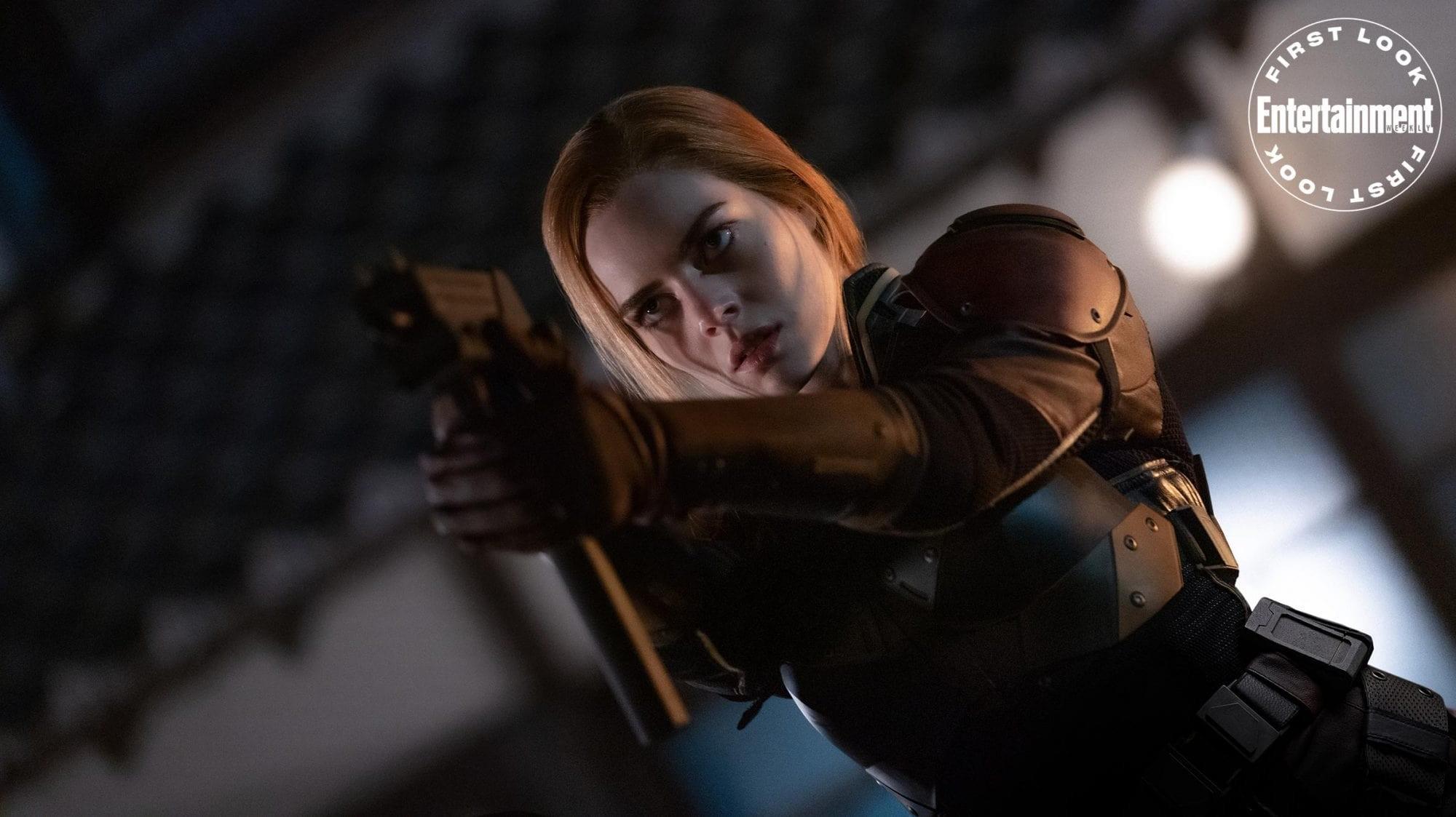 """Samara Weaving jako Scarlett w filmie """"Snake Eyes"""""""