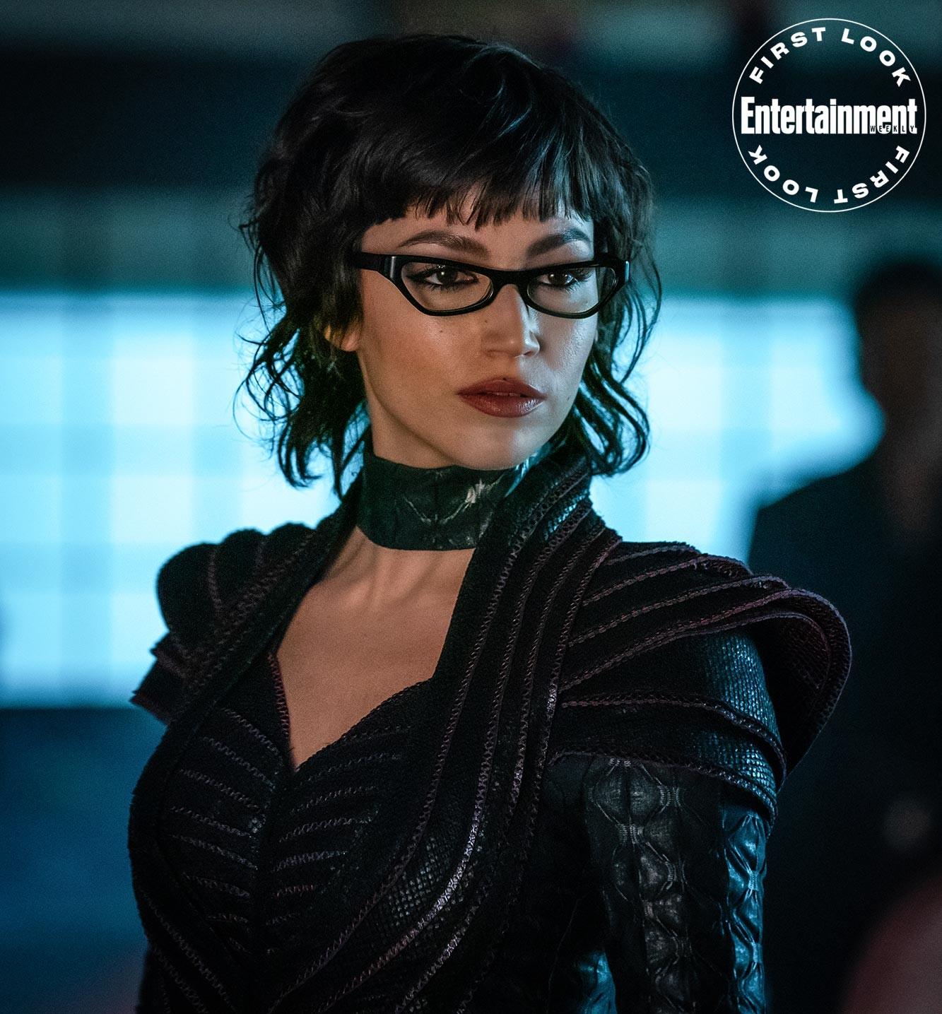 "Úrsula Corberó jako The Baroness w filmie ""Snake Eyes"""