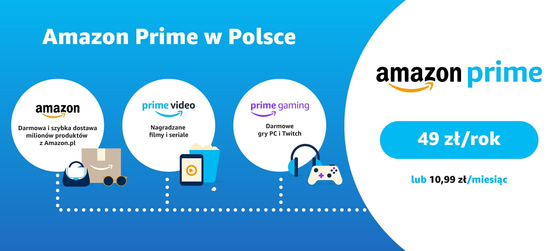 Amazon Prime w Polsce