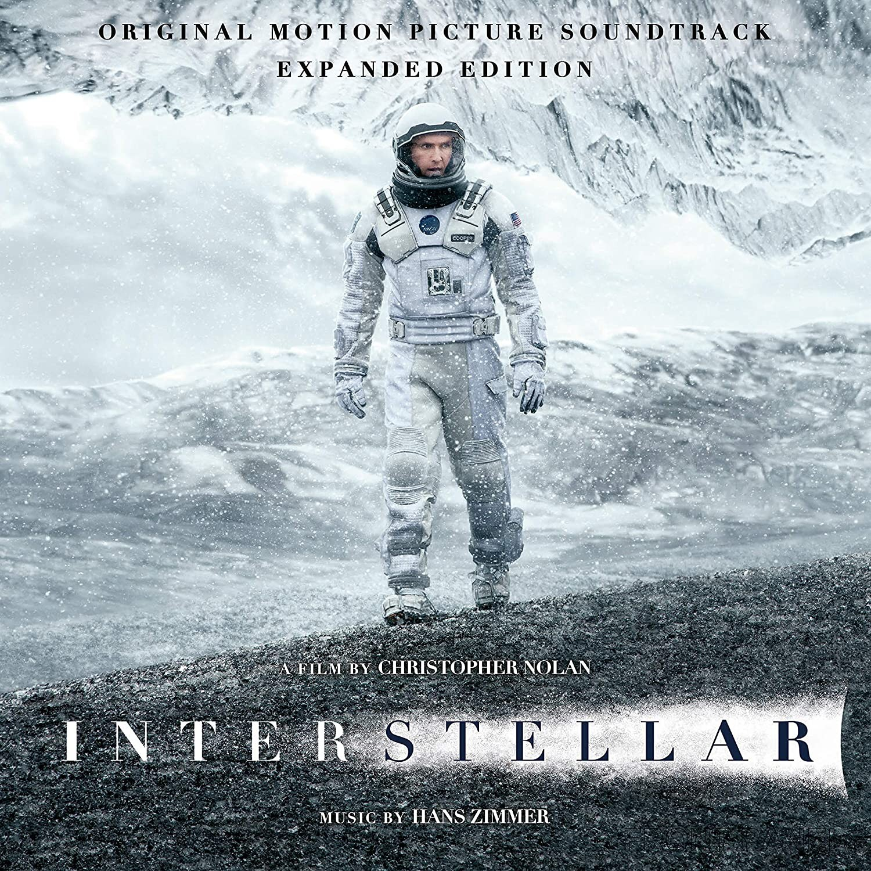 Interstellar - okładka soundtracku (CD i LP)