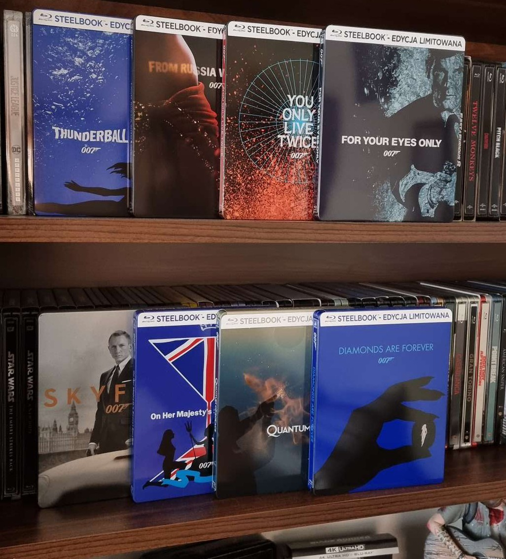 James Bond - steelbooki Blu-ray