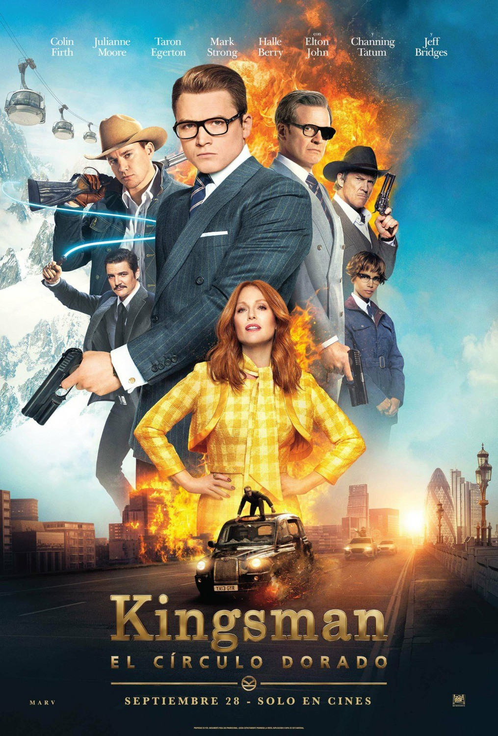 Kingsman. Złoty krąg / Kingsman. The Golden Circle