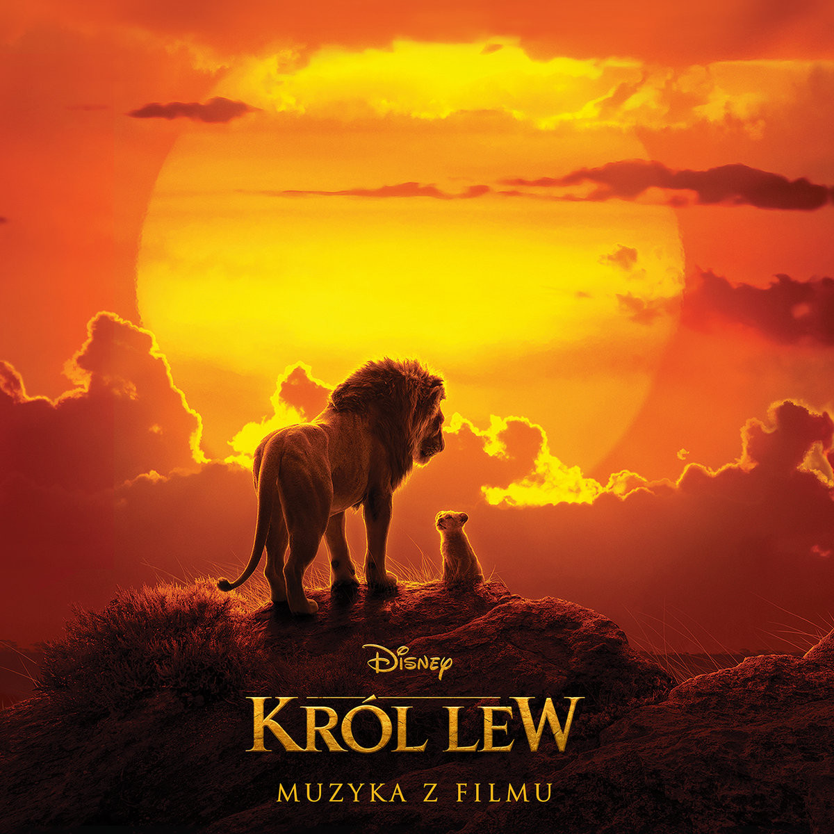 Król Lew (2019) - okładka polskiego wydania soundtracku CD