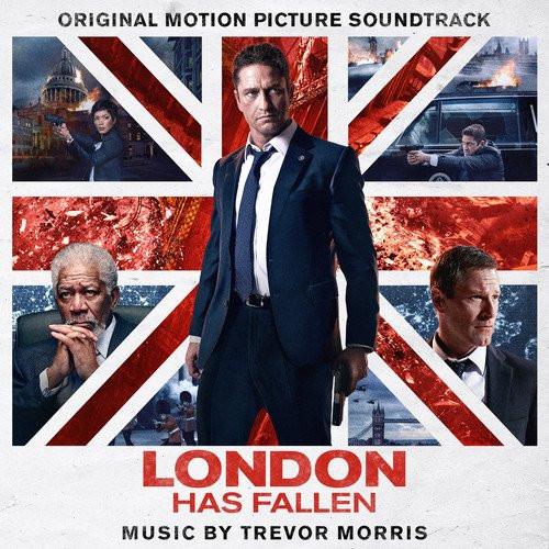 Londyn w ogniu - okładka soundtracku CD