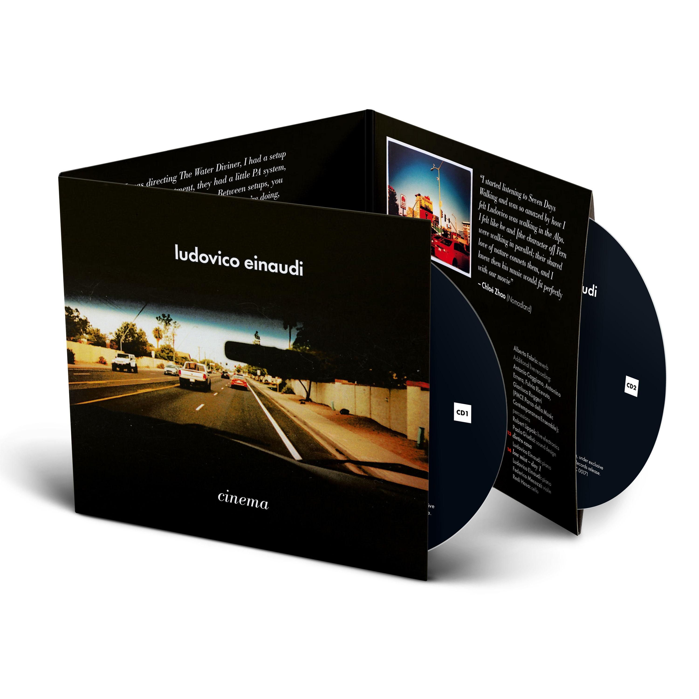 Ludovico Einaudi Cinema - wydanie 2CD