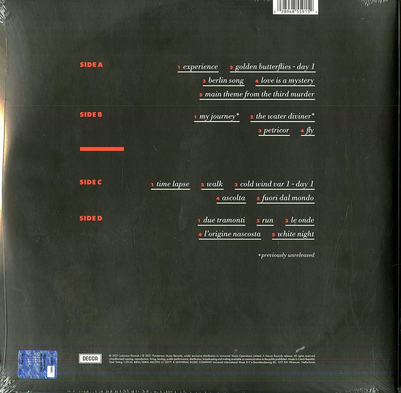 Ludovico Einaudi Cinema - wydanie 2LP (czarne) (tył)