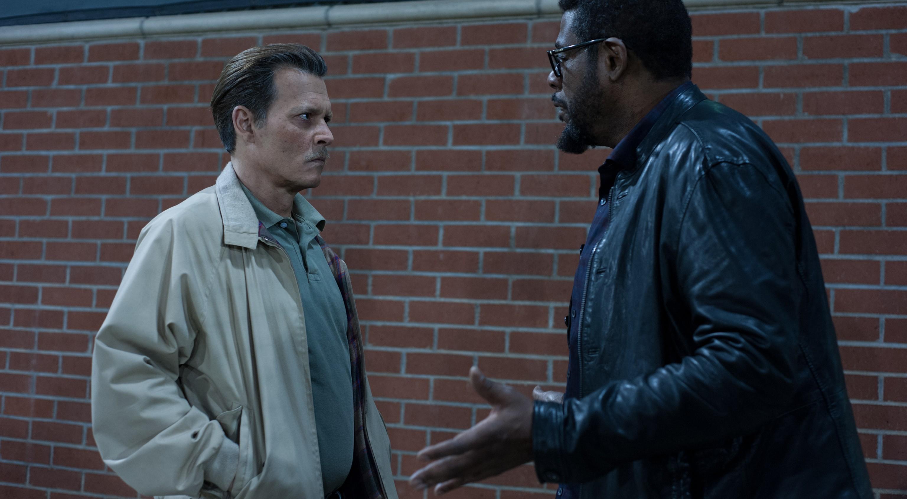 Johnny Depp i Forest Whitaker w filmie Miasto kłamstw