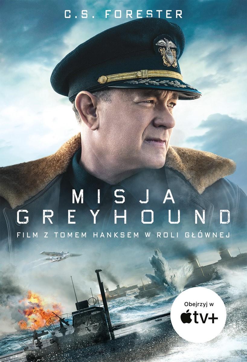 Misja Greyhound - front okładki książki (wydawnictwo Zysk i S-ka)