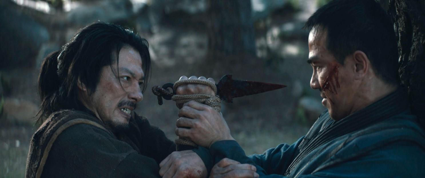 "Scorpion i Sub-Zero w filmie ""Mortal Kombat"""