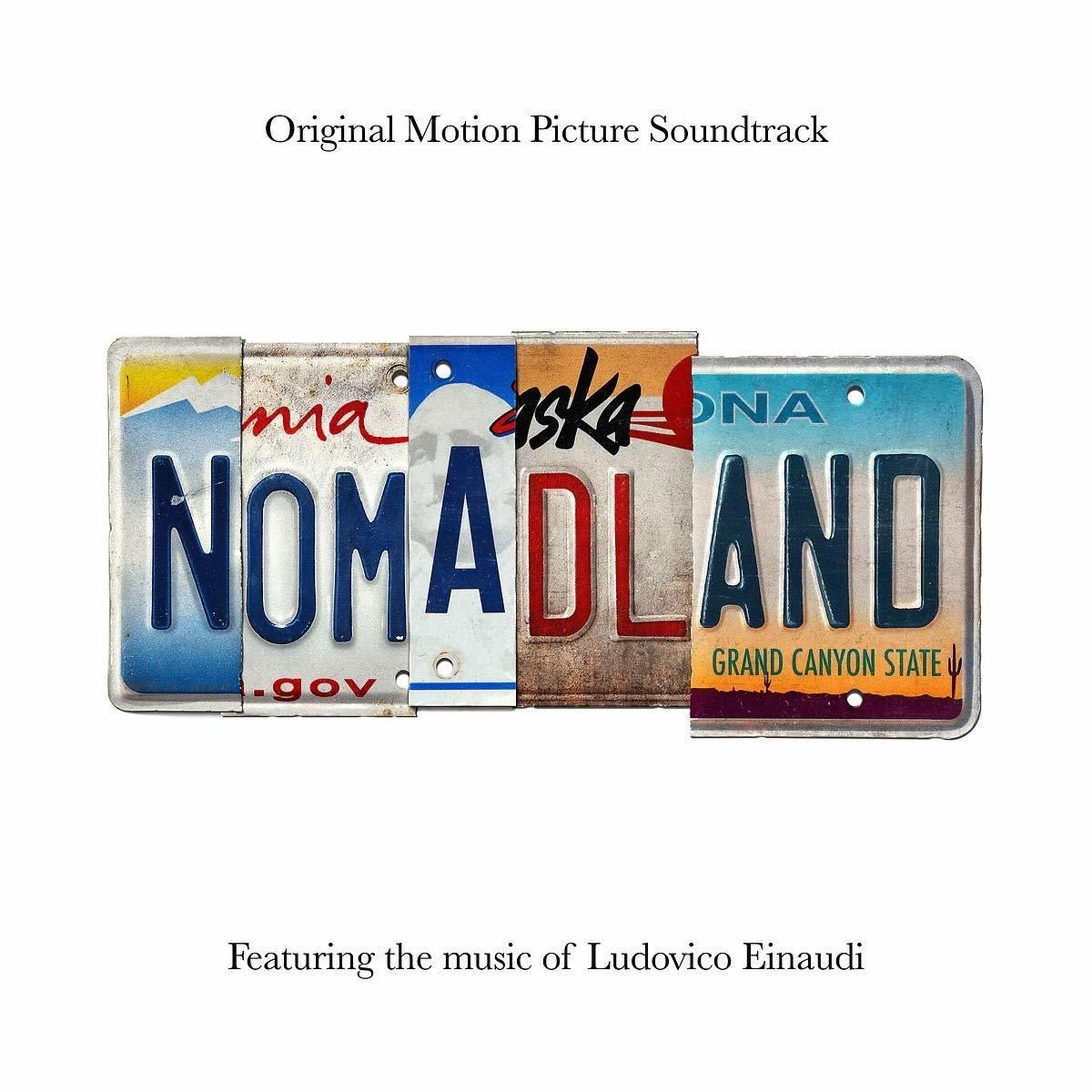 Nomadland - okładka soundtracku CD (front)