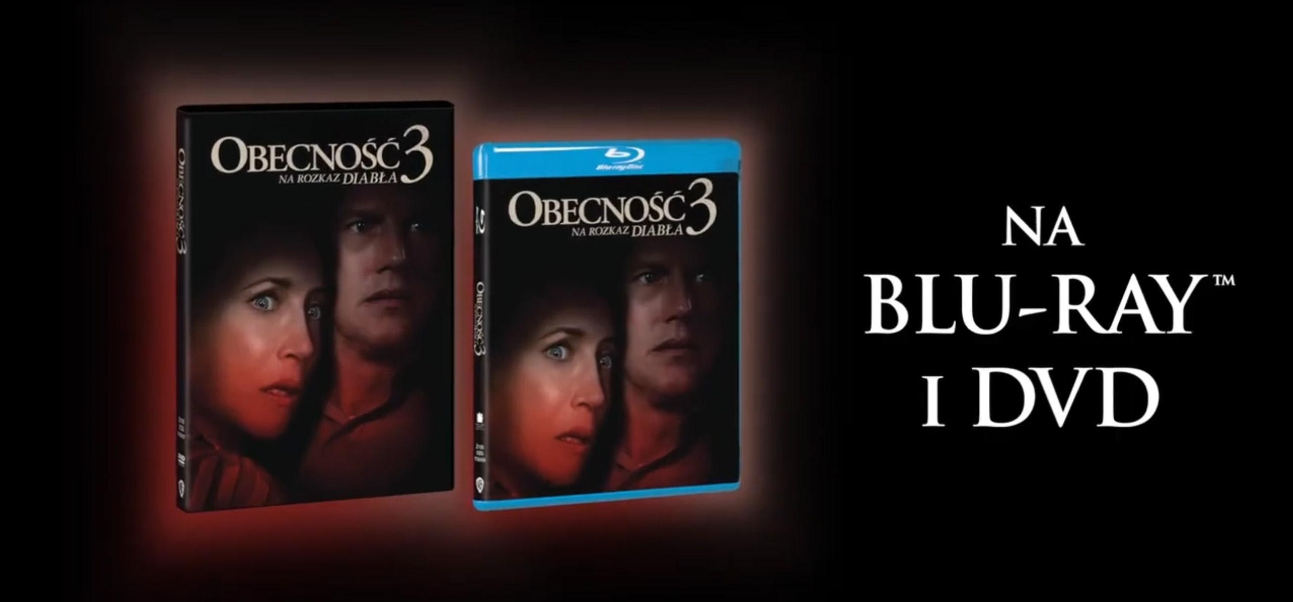 obecnosc 3 wydania DVD, Blu-ray