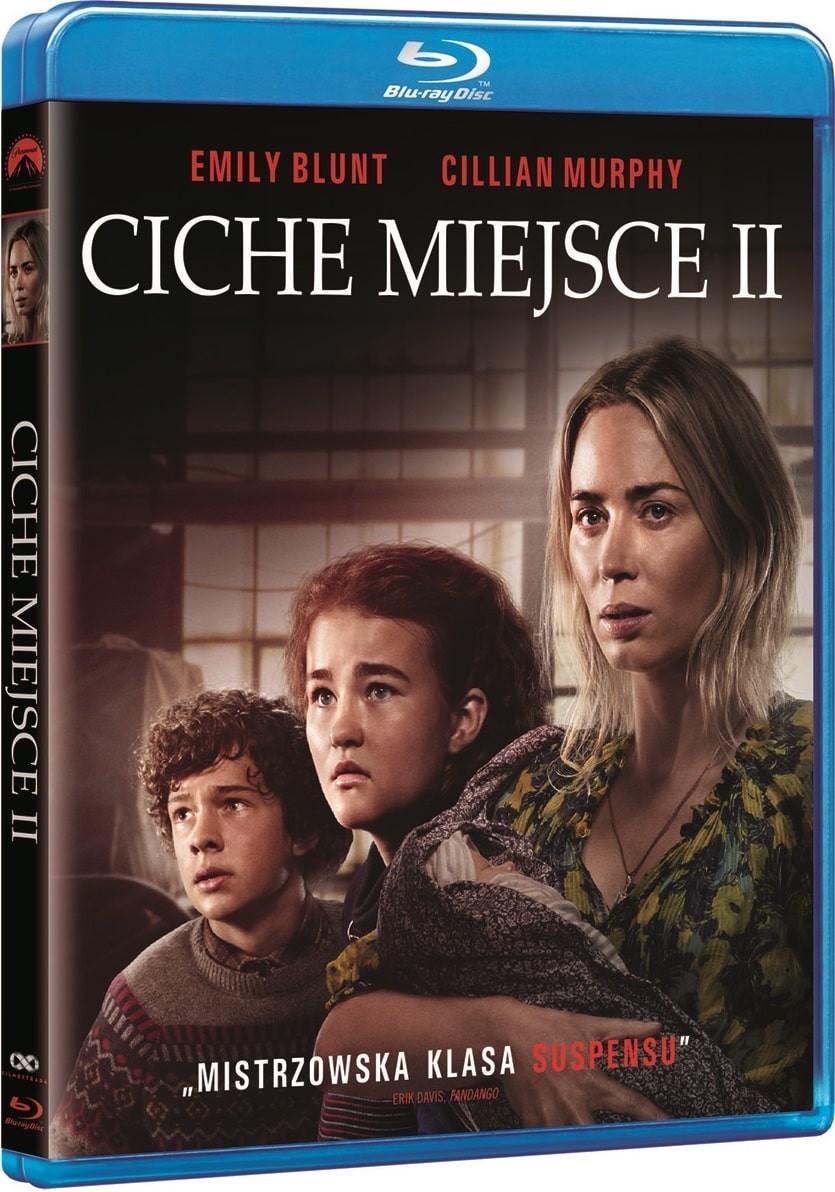 Ciche miejsce 2 wydanie Blu-ray