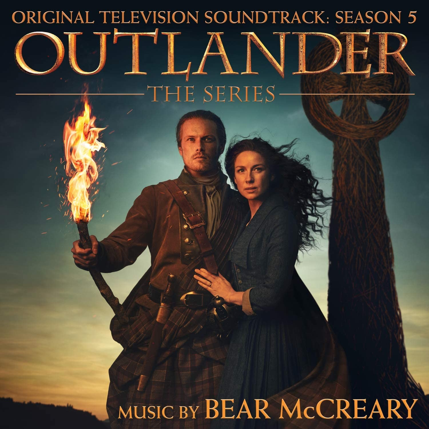 Outlander (Sezon 5) - okładka soundtracku CD (front)