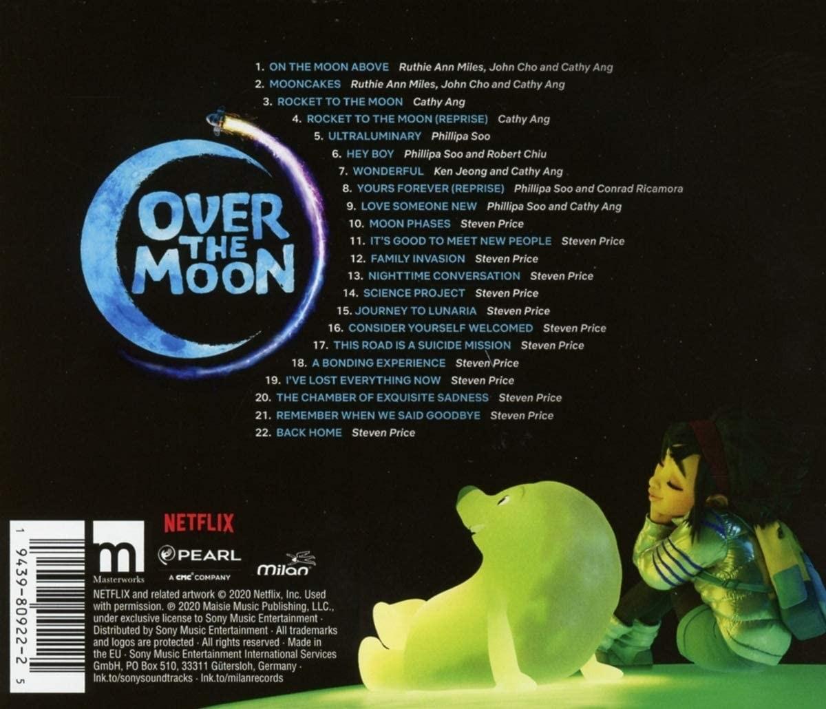 Wyprawa na Księżyc - okładka soundtracku CD (tył)