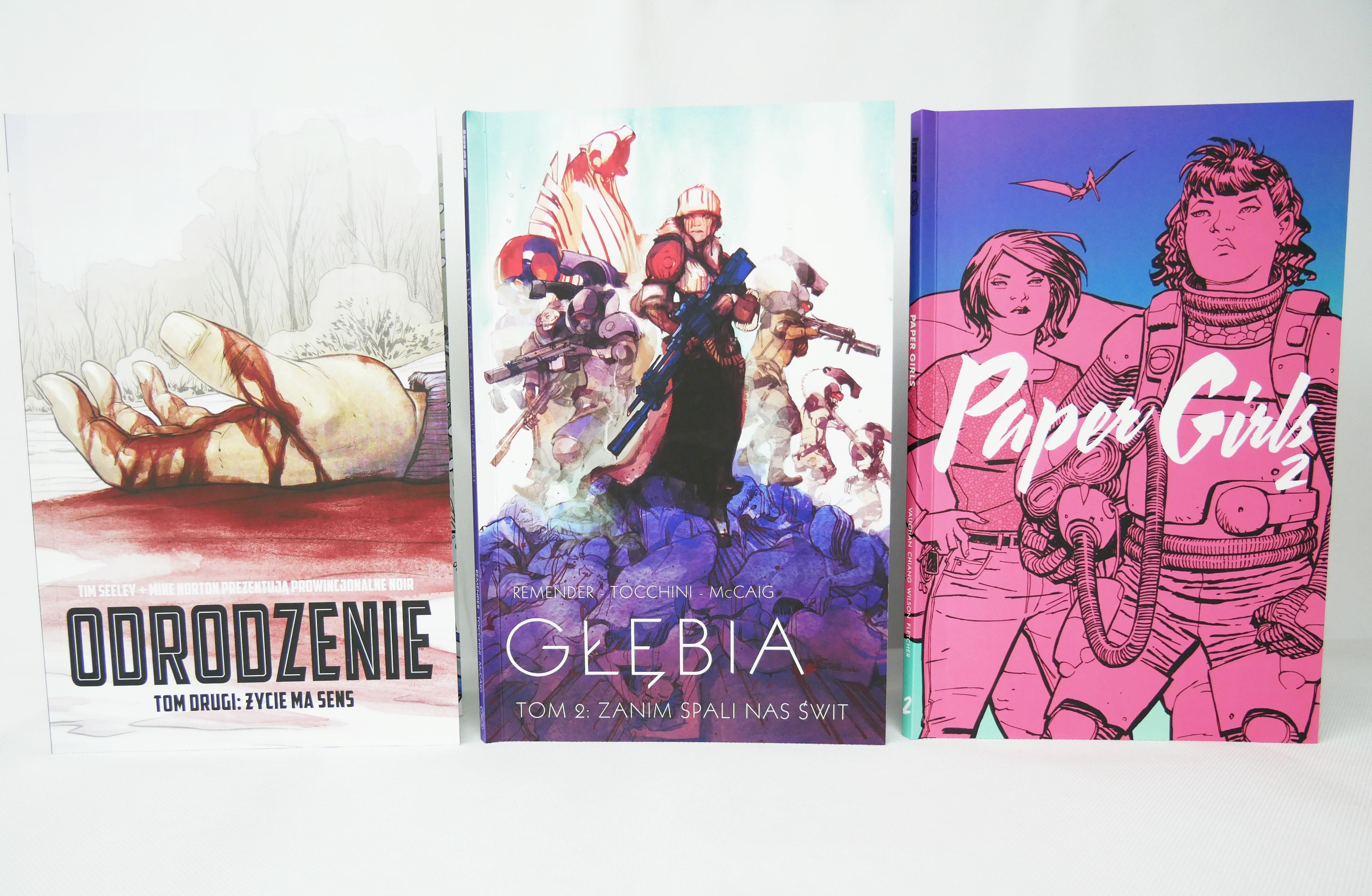 Odrodzenie tom 2, Głębia tom 2 i Paper Girls tom 2