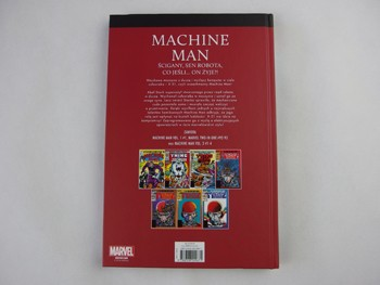 Superbohaterowie Marvela#27: Machine Man