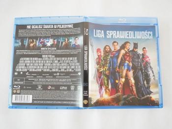 Liga Sprawiedliwości wydanie Blu-ray
