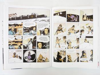 Corto Maltese tom 6: Na Syberii - prezentacja komiksu