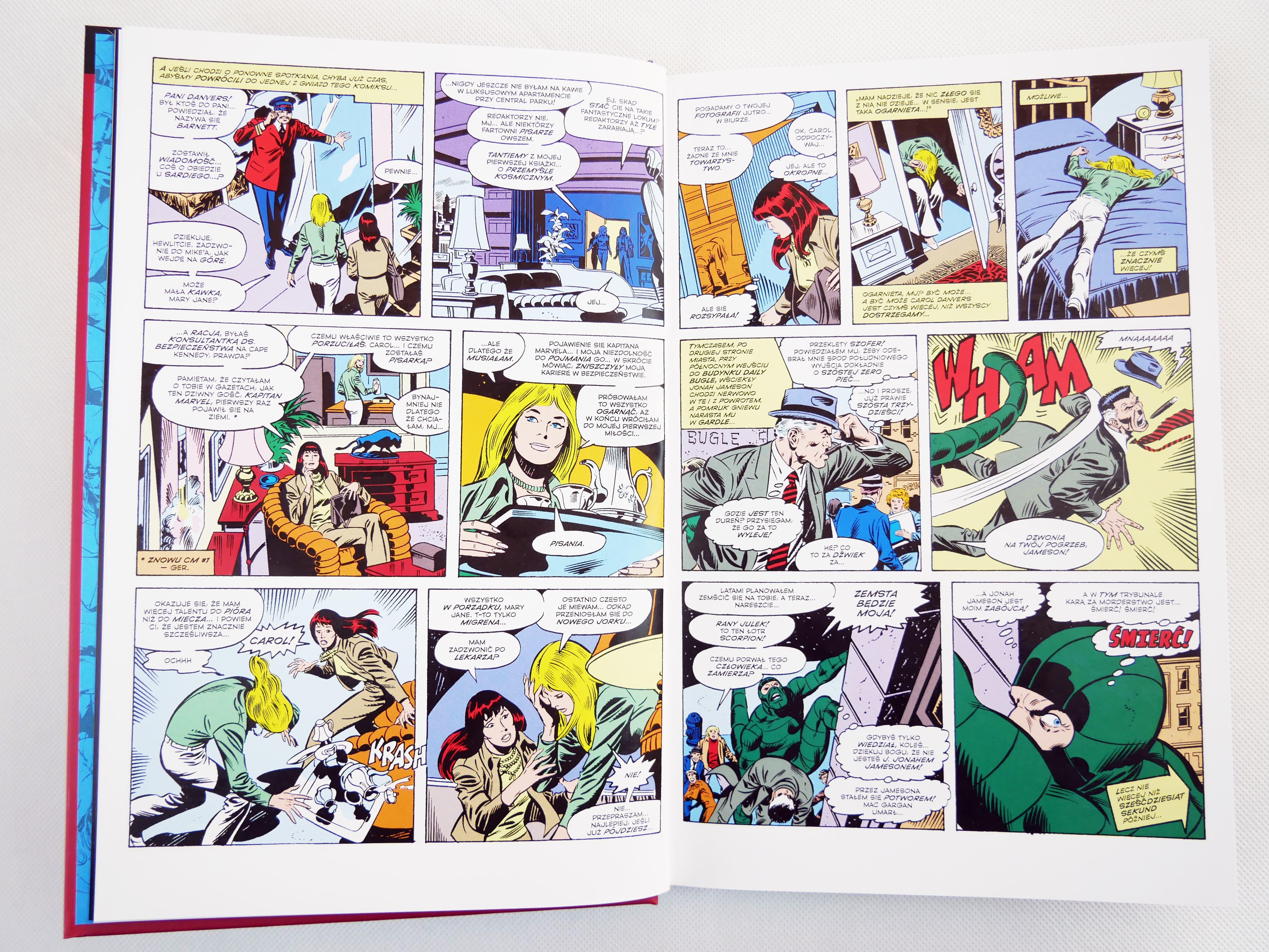 Superbohaterowie Marvela#51: Kapitan Marvel: Carol Danvers