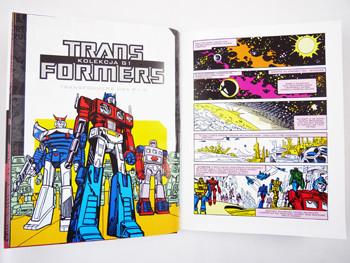 Transformers kolekcja G1 tom 1 - prezentacja komiksu