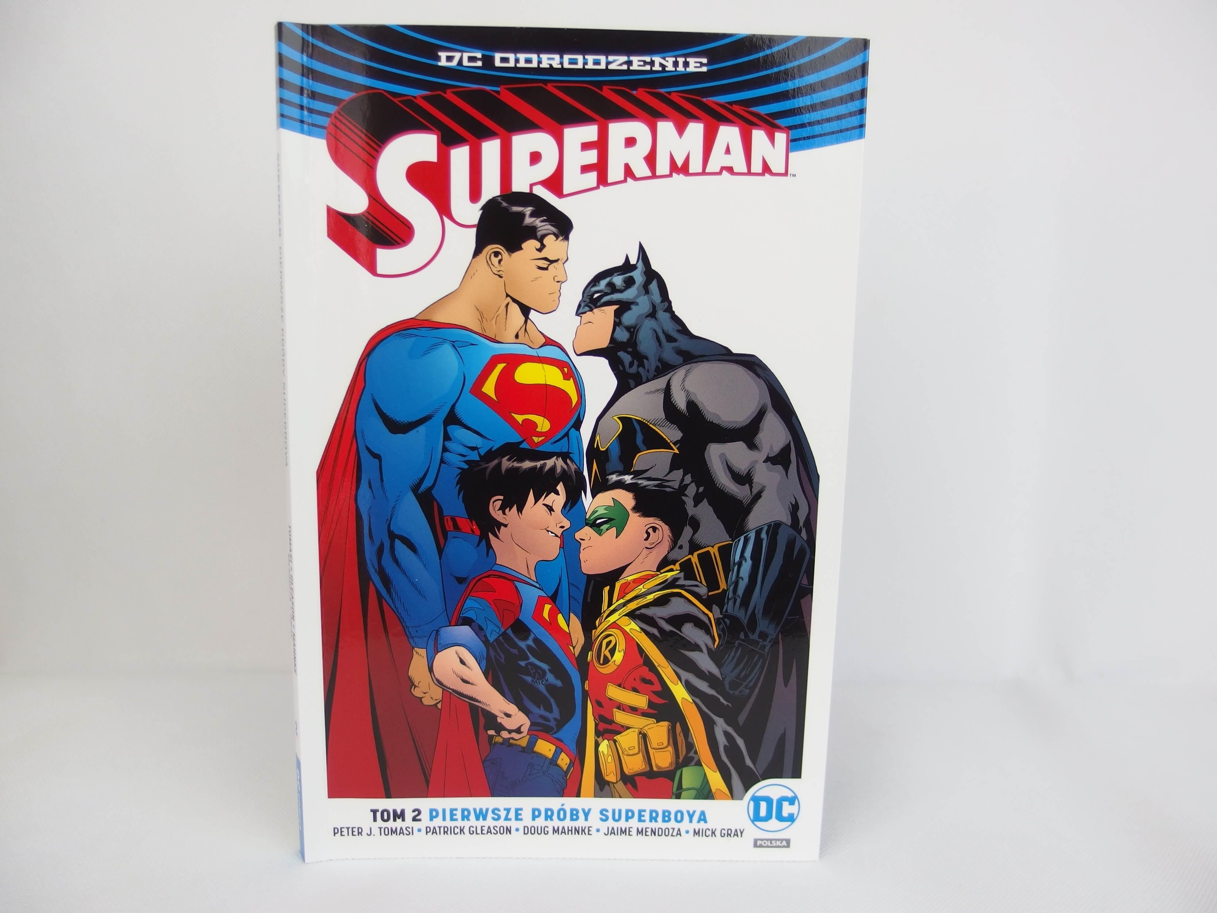 Superman tom 2: Pierwsze próby Superboya