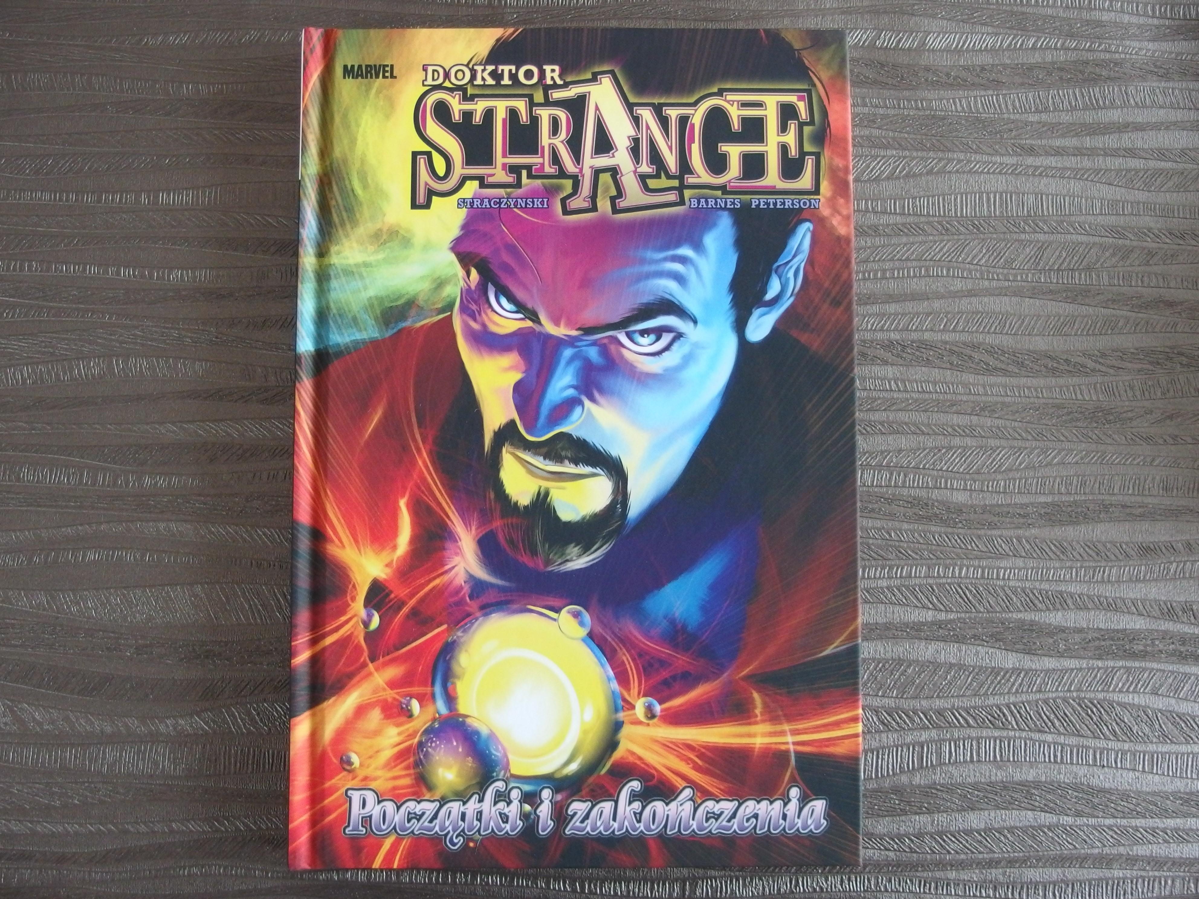 Doktor Strange: Początki i Zakończenia - okładka