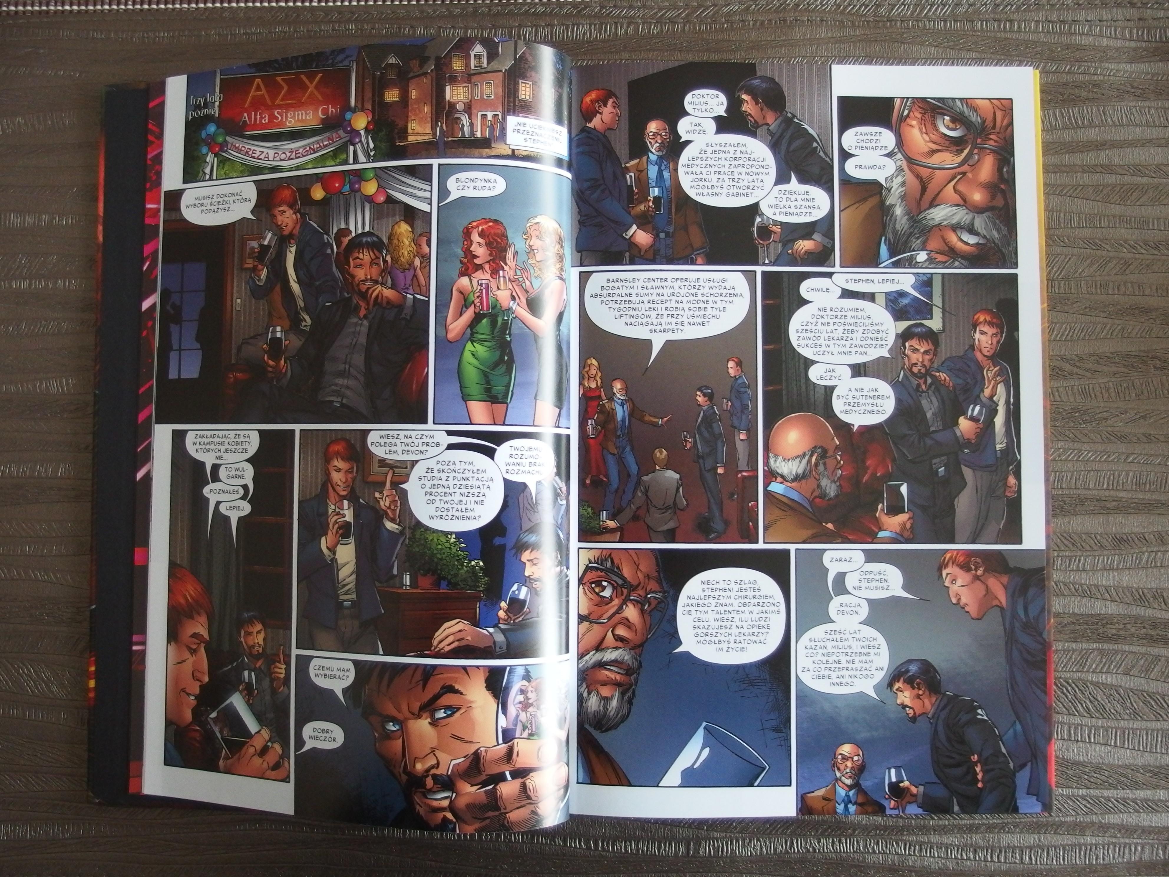 Doktor Strange: Początki i Zakończenia - komiks