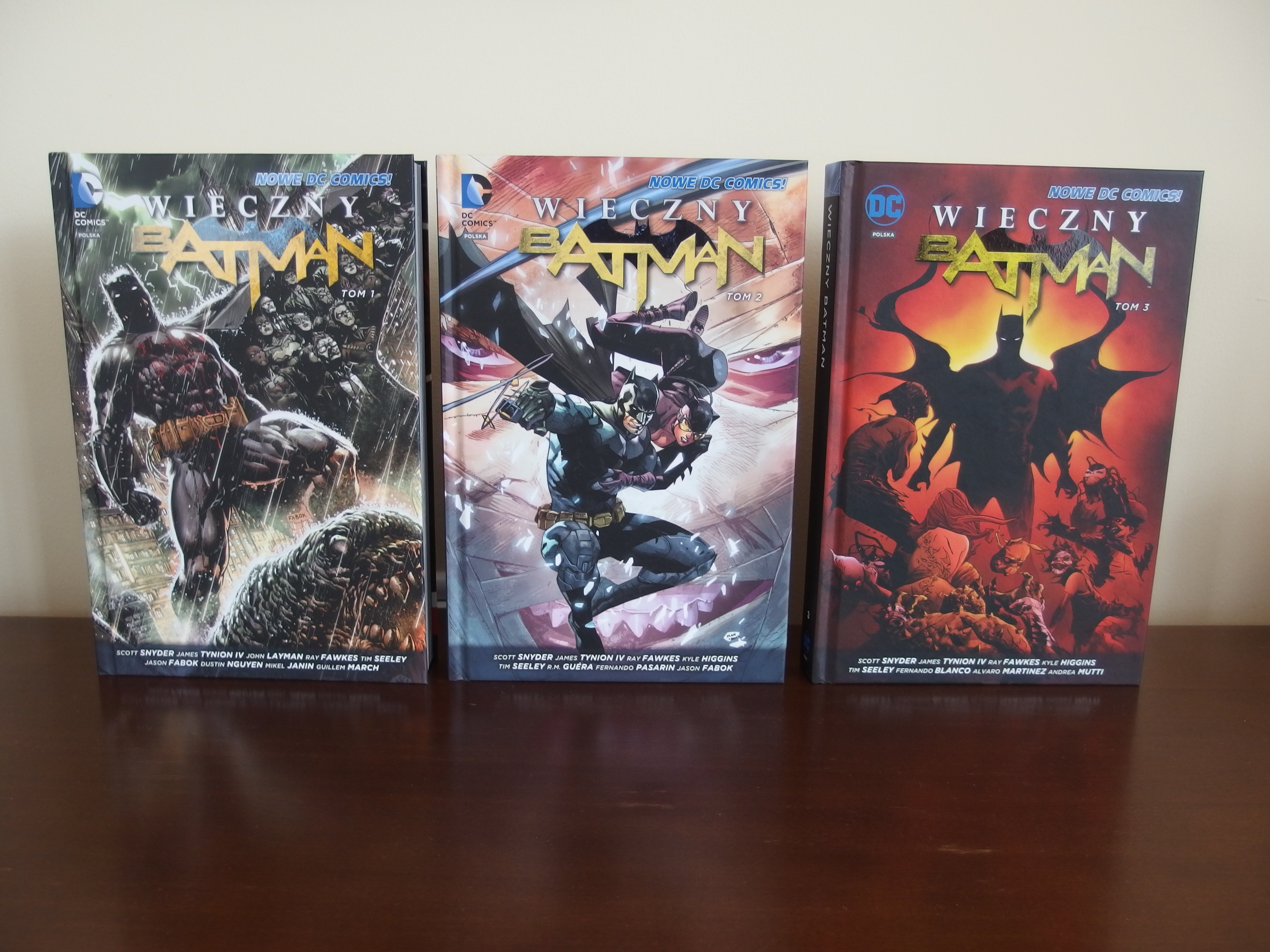 Wieczny Batman tomy 1- 3