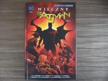 Wieczny Batman tom 3 - okładka