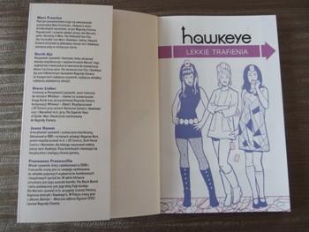 Hawkeye tom 2: Lekkie trafienia