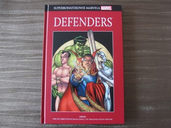 Superbohaterowie Marvela#23: Defenders