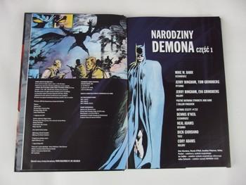 WKKDCC#33: Batman: Narodziny Demona część 1
