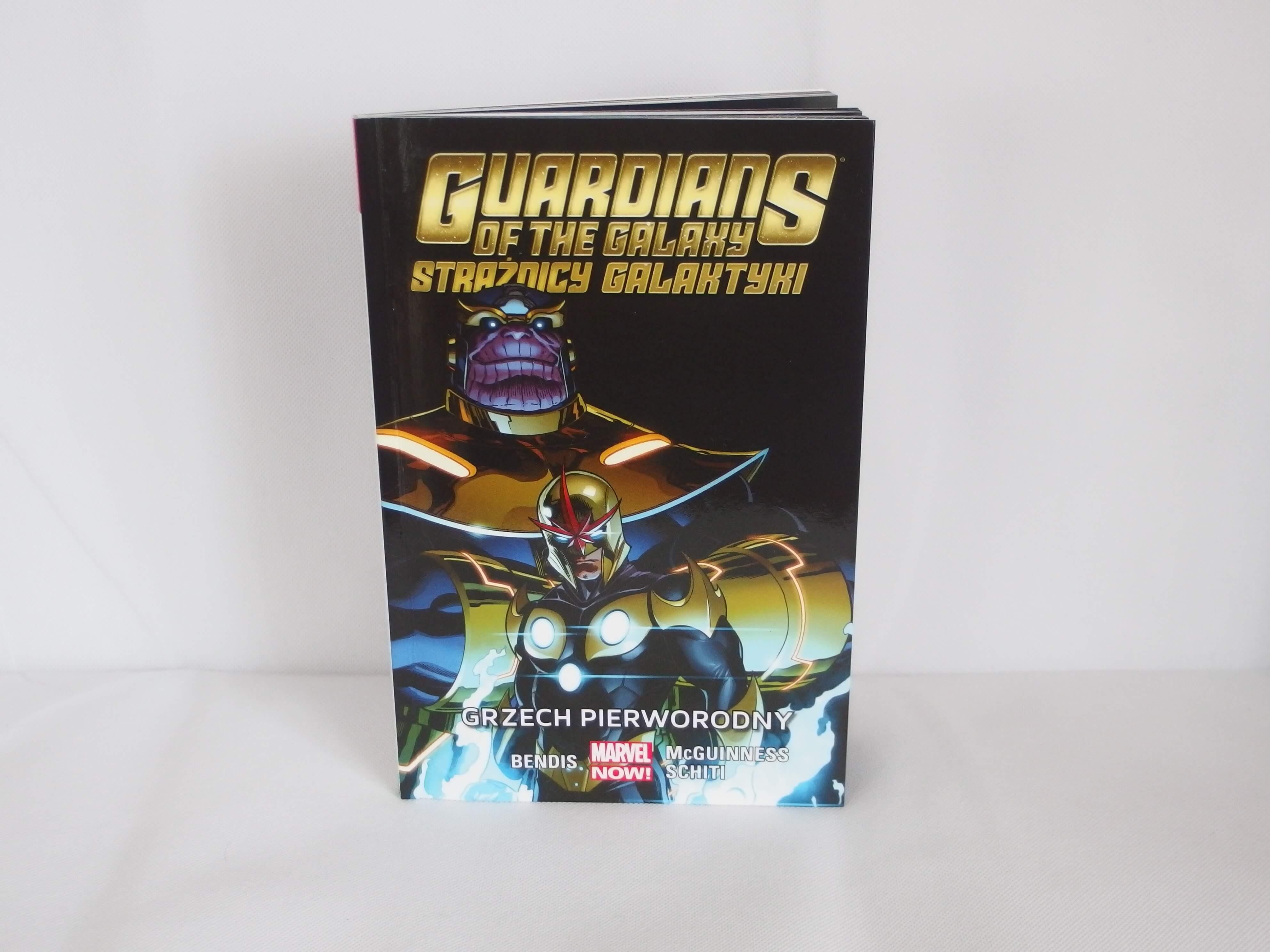 Guardians of the Galaxy tom 5: Grzech pierworodny -