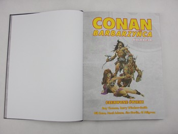 Conan Barbarzyńca tom 1: Czerwone Ćwieki