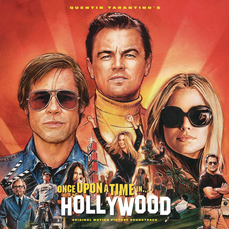 Pewnego razu w... Hollywood - okładka soundtracku CD