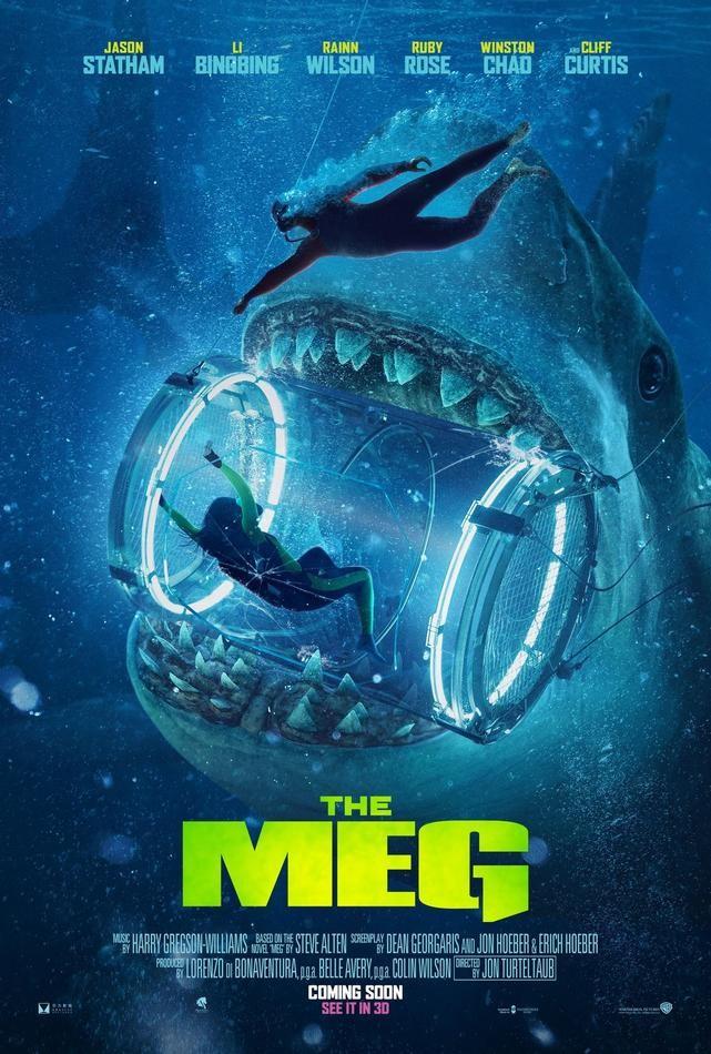 Nowe Plakaty Filmu The Meg Filmozercycom