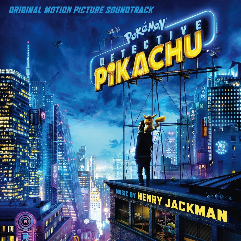 Pokémon Detective Pikachu - okładka soundtracku CD (front)