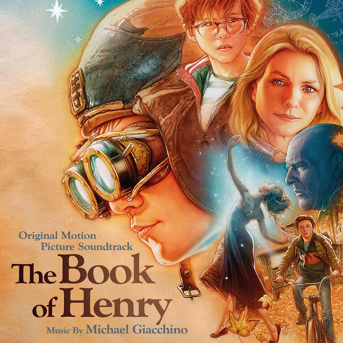 Powieść Henry'ego - okładka soundtracku CD