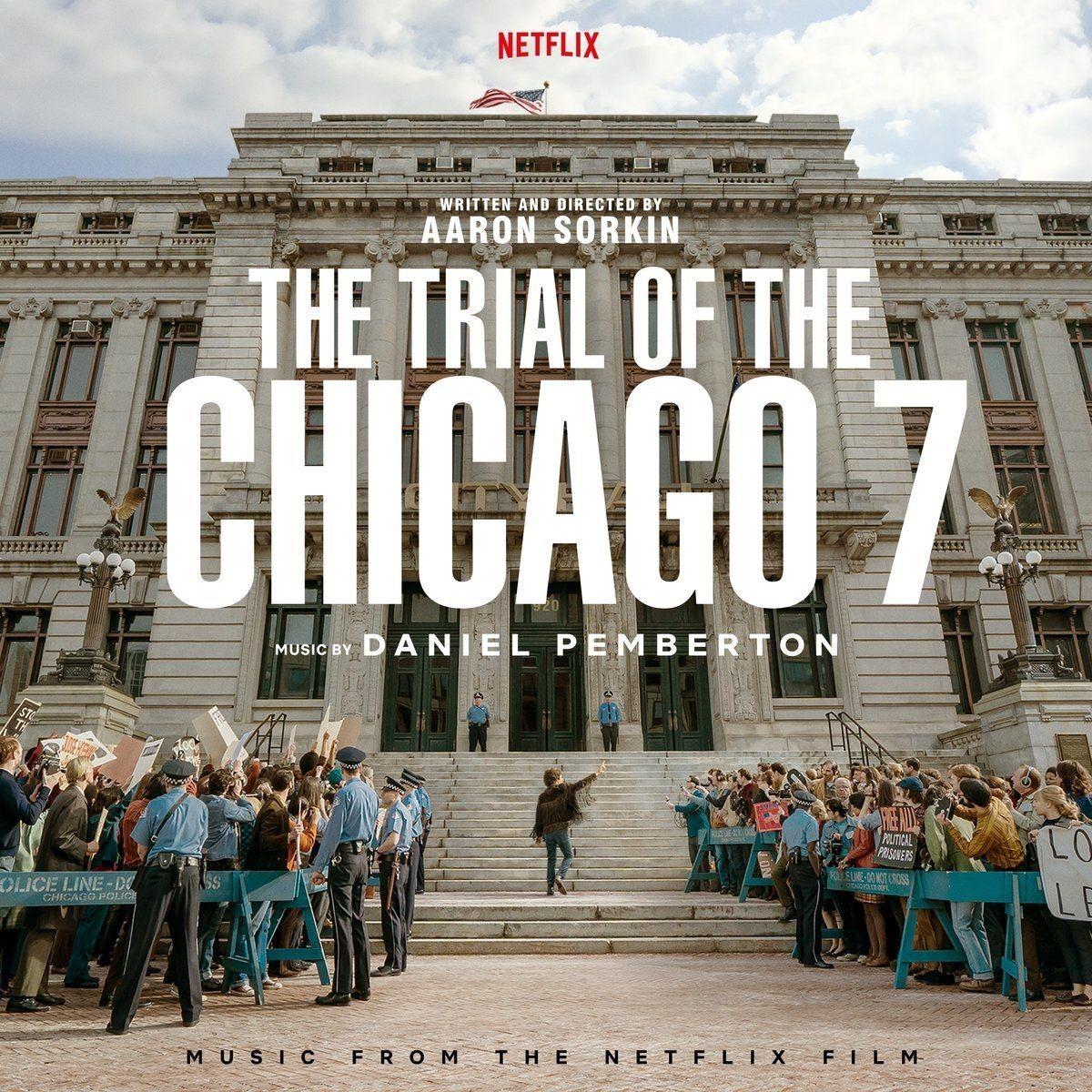 Proces Siódemki z Chicago - okładka soundtracku CD (front)
