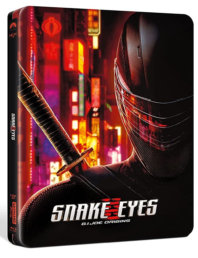 Snake Eyes steelbook 4K UHD