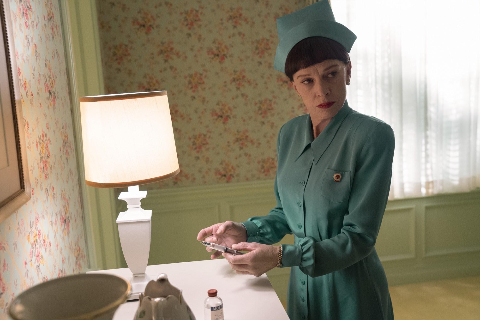 """Sarah Paulson jako siostra Ratched z """"Lotu nad kukułczym gniazdem"""""""