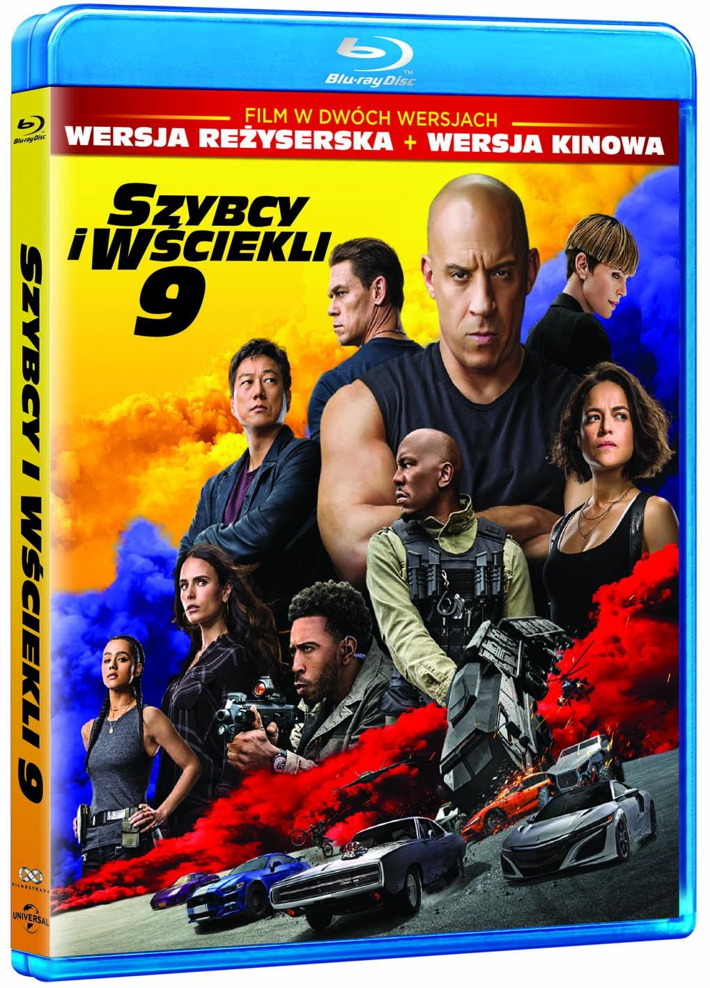 Szybcy i wsciekli 9 Blu-ray