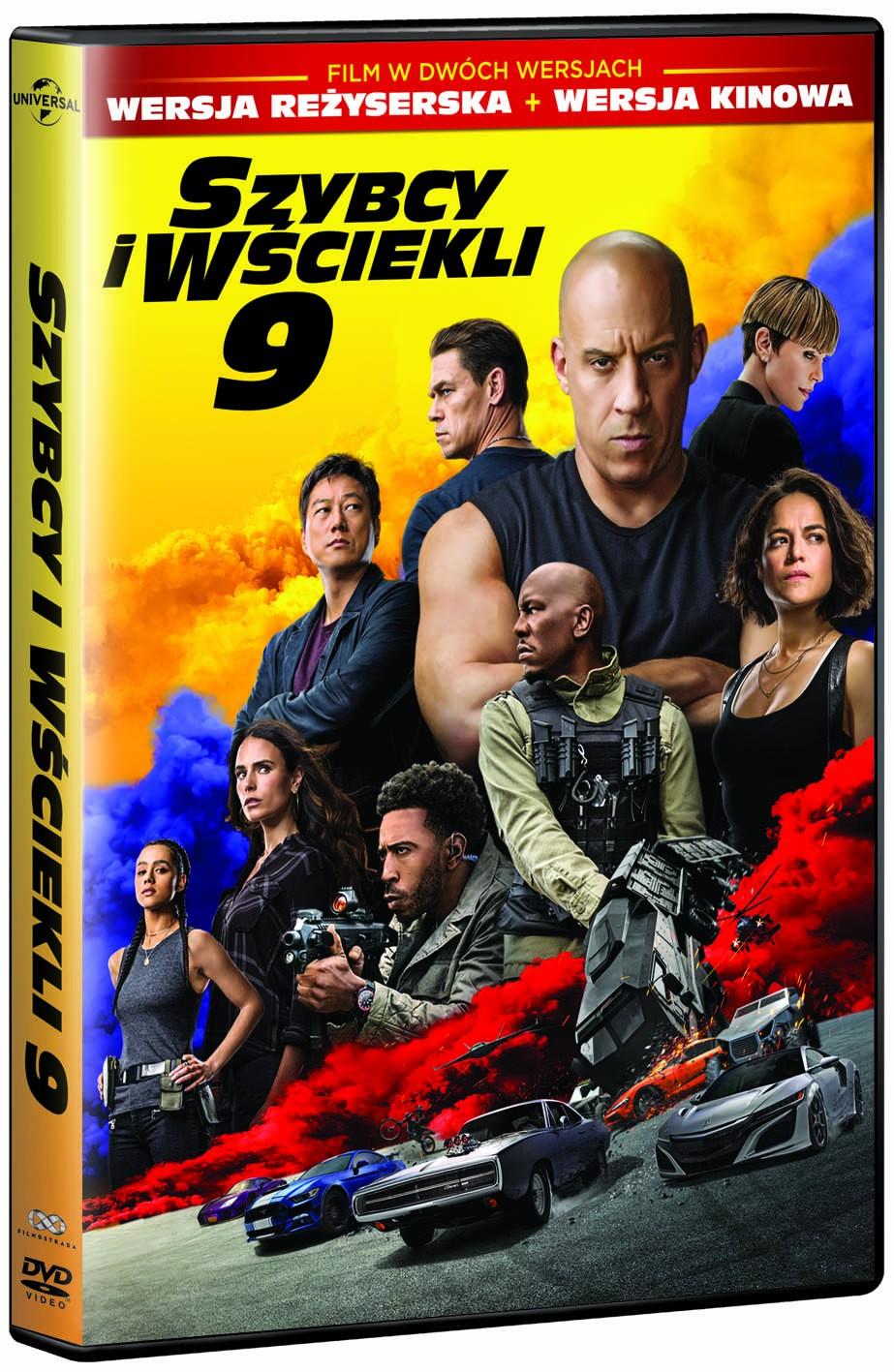 Szybcy i wściekli 9 DVD