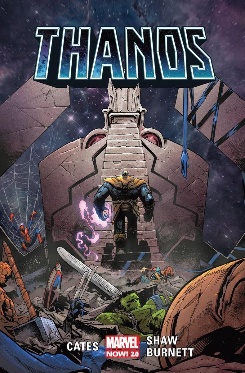 """Okładka komiksu """"Thanos"""" tom 2"""