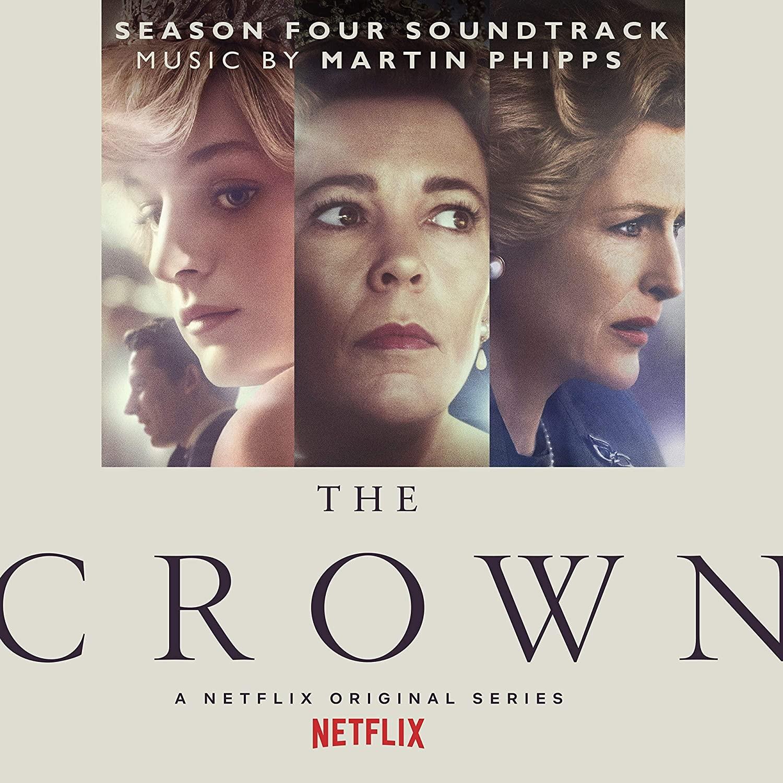 The Crown (Sezon 4) - okładka soundtracku CD (front)