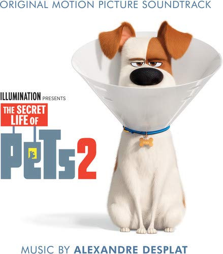 The Secret Life of Pets 2 - okładka soundtracku CD