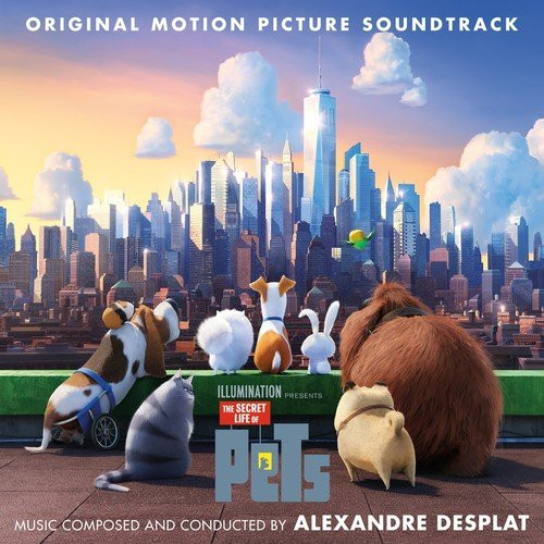 The Secret Life of Pets (2016) - okladka soundtracku CD