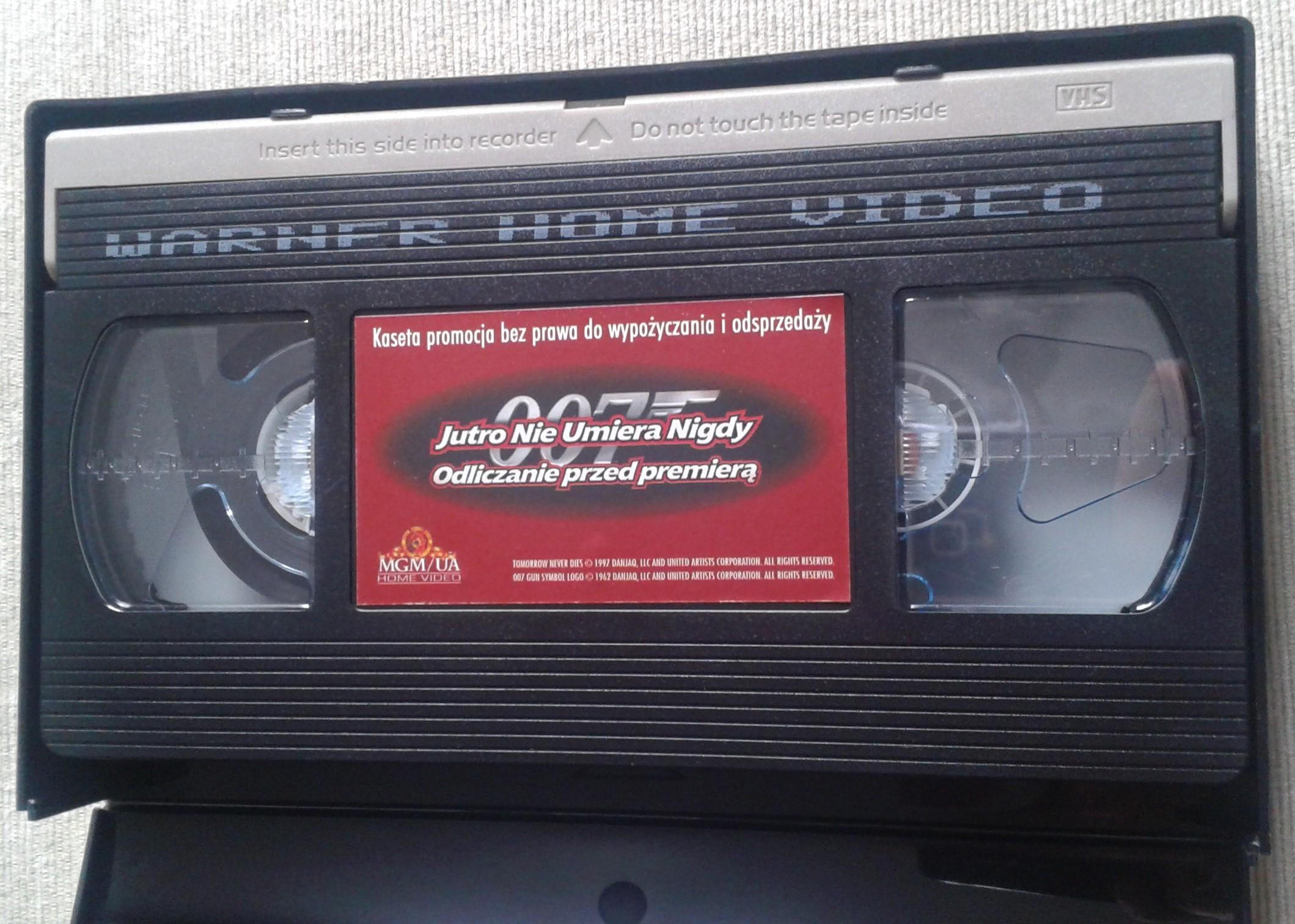 Jutro nie umiera nigdy - kaseta promocyjna (Warner, 1997)