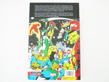 Wojna nieskończoności  - prezentacja komiksu